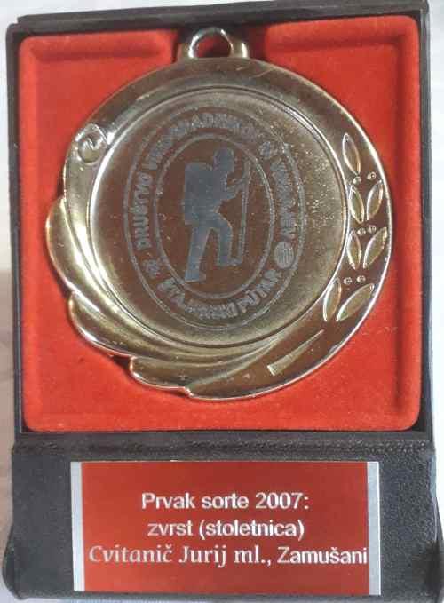 prvak sorte 2007